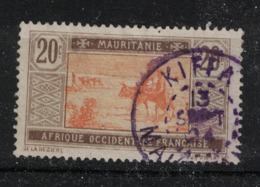 Mauritanie - Mauritania - Yvert 23 Oblitéré KIFFA En VIOLET  - Scott#27 - Mauritania (1906-1944)