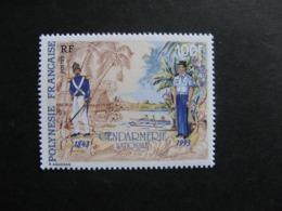 Polynésie: TB  N° 443A, Sans La Signature Cartor , Neuf XX. - Polynésie Française