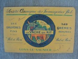 """Buvard Publicitaire """"la Vache Qui Rit"""" (utilisé) - Buvards, Protège-cahiers Illustrés"""