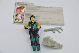 Vintage ACTION FIGURE GI JOE : DIAL-TONE [Communications] With Accessories And Card- Original 1986 - Hasbro - GI JOE - Action Man