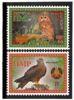 Moldova / PMR Transnistria  . EUROPA 2019. National Birds. (Arms,Flag) . 2v:A,B - Moldova