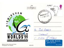 JUDO Carte Championnat Du Monde 1999 - Judo