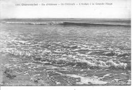ILE D'OLERON - SAINT TROJAN - L'océan à La Grande Plage - Ile D'Oléron