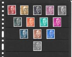 Ensemble De 13 Timbres Oblitérés D'Espagne - 1931-Aujourd'hui: II. République - ....Juan Carlos I
