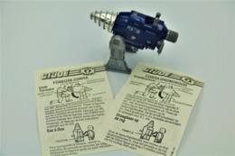 Vintage ACTION FIGURE GI JOE : MOTORIZED ACTION PACKS [Earth Borer] With BLUEPRINT(BOOKLET) - Original 1987 - Hasbro - Action Man