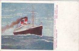 "Schnelldampfer Der Austro-Americana ""Kaiser Franz Josef I""           (A-130-170717) - Dampfer"