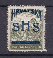 Yugoslavia - SHS - Croatia - 1918 Year - Michel 75 FI - MH - 100 Euro - 1919-1929 Reino De Los Serbios, Croatas Y Eslovenos