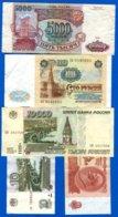 Russie  10  Billets - Russia