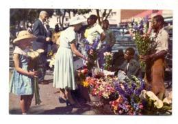 SIMBABWE / RHODESIA & NYASSALAND, SALISBURY / HARARE, Cecil Square, Flower Sellers - Zimbabwe
