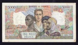 France- 5000 Francs Empire Du 13/09/1945 - A.1179 - 1871-1952 Antiguos Francos Circulantes En El XX Siglo