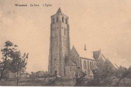 WOUMEN / DIKSMUIDE / DE KERK  1923 - Diksmuide