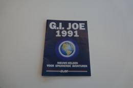 Vintage ACTION FIGURE GI JOE : BOOKLET BROCHURE CATALOG : 1991 32pg - Original 1991 - Hasbro - Action Man