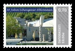 Luxembourg (Meng Post) 2015 No. 75 Schengen Agreement MNH ** - Luxembourg