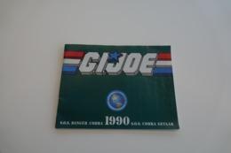 Vintage ACTION FIGURE GI JOE : BOOKLET BROCHURE CATALOG :  SOS DANGER COBRA 1990 - Original 1990 - Hasbro - Action Man