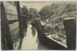 Flandern, Schützengraben, Feldpost RIR 248, 1916 Nach Lampertheim (40818) - Weltkrieg 1914-18