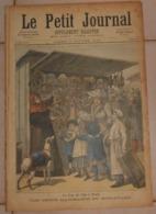 Le Petit Journal. 2 Janvier 1892.Le Jour De L'an à Paris. Aux Docks De Mülwall. - Libros, Revistas, Cómics