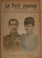 Le Petit Journal. 9 Janvier 1892. Un Mariage Princier.L'accordée De Village. - Libros, Revistas, Cómics