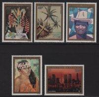 Polynesie - PA N°84 à N°88 - Tableaux - * Neufs Avec Petite Trace De Charniere - Cote 235€ - Posta Aerea