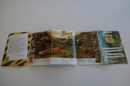 Vintage ACTION FIGURE GI JOE : BOOKLET BROCHURE CATALOG :  BELGIUM CLUB TIGER FORCE - Original 1988 - Hasbro - Action Man
