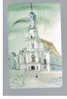 LITUANIA (LITHUANIA) -  1998  KAUNAS TOWN HALL  - USED - RIF. 10677 - Lituanie