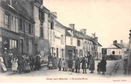 77 - N°150916 - Ussy-sur-marne - Grande Rue - Boulangerie - Frankrijk