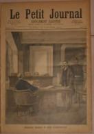 Le Petit Journal. 16 Janvier 1892. Anastay Devant Le Juge D'instruction. Un Drame Dans Une Cave. - Books, Magazines, Comics