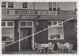 FOTO KANNE CAFE RESTAURANT JEAN GILSON / RUE DES ECOLES SCHOOLSTRAAT 205 / PUB STELLA ARTOIS - Riemst