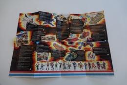 Vintage ACTION FIGURE GI JOE : BOOKLET BROCHURE CATALOG :  POSTER - Original 1986 - Hasbro - Action Man