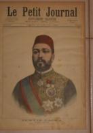 Le Petit Journal. 23 Janvier 1892. Tewfik-Pacha Khédive D'Egypte. Les Mystères De Khartoum. - Libros, Revistas, Cómics