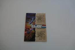 Vintage ACTION FIGURE GI JOE : BOOKLET BROCHURE CATALOG :  1992  5 New Recrutes/vehicles - Original 1992 - Hasbro - Action Man