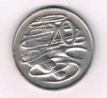 20 CENTS 1976 AUSTRALIE /8483/ - Monnaie Décimale (1966-...)