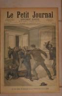 Le Petit Journal. 30 Janvier 1892. Un Fou Dans Les Bureaux De La Préfecture De La Seine. La Saint-Charlemagne. - Libros, Revistas, Cómics