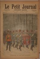 Le Petit Journal. 6 Février 1892. Obsèques Du Duc De Clarence. La Femme Au Manchon. - Libros, Revistas, Cómics