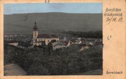 RAVELSBACH AUSTRIA ~ PANORAMA ~ 1912 FRANZ KIRCHMAYER PHOTO POSTCARD 42326 - Österreich