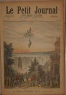 Le Petit Journal. 13 Février 1892. Chute Du Niagara Dans Le Pays De L'Or. Scaphandriers à La Recherche D'épaves Au Havre - Libros, Revistas, Cómics