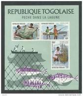 Togo BF N° 78  XX Pêche Dans La Lagune, Le Bloc Sans Charnière, TB - Togo (1960-...)