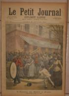 Le Petit Journal. 20 Février 1892.L'Armée Du Salut à Paris. La Cruche Cassée. - Libros, Revistas, Cómics