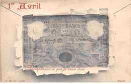 1er Avril - N°60711 - Acompte Sur Ce Que Je Vous Dois - Billet Dans Une Enveloppe - 1 De April (pescado De Abril)