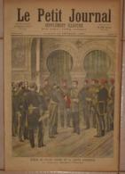 Le Petit Journal. 27 Février 1892.Remise Du Grand Cordon De La Légion D'Honneur.Exécution Des Anarchistes De Xérès. - Libros, Revistas, Cómics