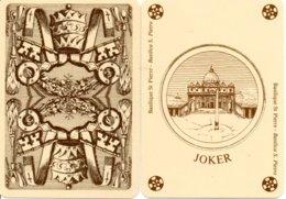 JOKER -@@@@@@@ Basilique ST PIERRE - Basilica S. PIETRO Couronne Carte à Jouer Cartes à Jouer (604) - Speelkaarten