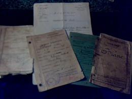 Vieux Papier Militaires D Un Soldat Du 80 E Régiment D Infanterie D Albi (et 1er Zouave), Voir Photos - Documents