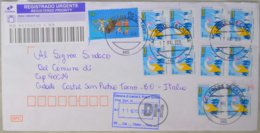2019 Brasil - Pentatlon Moderno Rs 1.40 - Used Stamps On Registered Cover To Italy - Sommer 2016: Rio De Janeiro