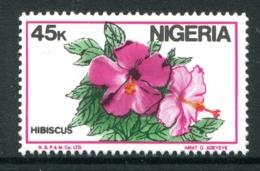 Nigeria 1986-98 Nigerian Life - 45k Hibiscus MNH (SG 522) - Nigeria (1961-...)