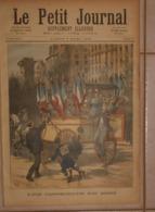 Le Petit Journal. 5 Mars 1892.Les Conscrits De 1892. Un Train Arrêté Par Les Neiges. - Books, Magazines, Comics
