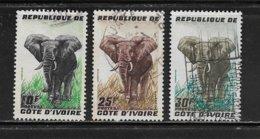 COTE D'IVOIRE ( CDIV - 125 )  1959  N° YVERT ET TELLIER  N° 177/179 - Côte D'Ivoire (1960-...)