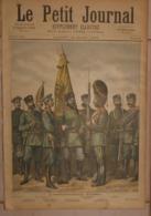Le Petit Journal. 12 Mars 1892.L'Infanterie Russe.Le Laboureur Et Ses Enfants. - Libros, Revistas, Cómics
