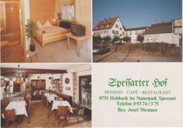 AK Hobbach Spessart Pension Cafe Restaurant Spessarter Hof A Eschau Dammbach Heimbuchenthal Eichelsbach Rück Hausen - Miltenberg A. Main