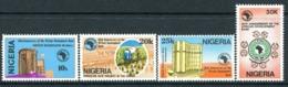 Nigeria 1989 25th Anniversary Of African Development Bank Set MNH (SG 576-579) - Nigeria (1961-...)