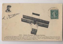 Biplan Farman Piloté Par Paulhan - En L'état - ....-1914: Précurseurs