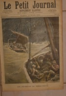 Le Petit Journal. 19 Mars 1892. Les Pêcheurs De Terre Neuve. Les émeutes D'Allemagne. - Books, Magazines, Comics